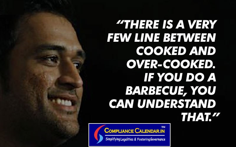 Cooked and Over-cooked: MS Dhoni