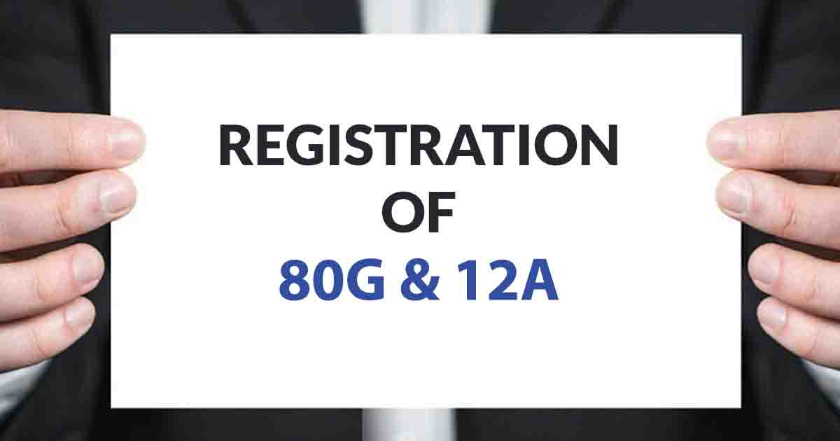 80G and 12A Registration